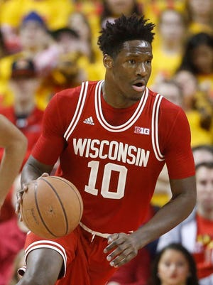 Wisconsin forward Nigel Hayes passed up a shot at the NBA to accomplish more goals as a senior.