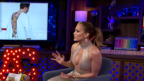 JLo calls Ben Affleck's back tattoo 'awful' on 'Watch What ...