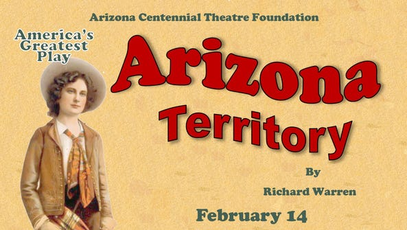 """Arizona Territory"" will be broadcast live at 7 p.m."