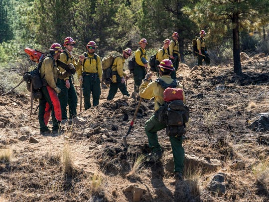 Firefighters are focusing on extinguishing remaining hotspots and strengthening control lines on the Graham Fire near Lake Billy Chinook. It has burned 2,175 acres, and is estimated 65 percent contained.