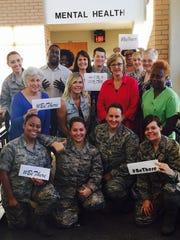 "The mental health ""team"" at Maxwell Air Force Base."