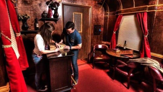 Escapology is an escape room experience at Orange County Choppers.