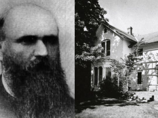 Josiah McIntyre, the first blind man to earn his law degree in the U.S., lived at 137 Mathews St. in Fort Collins.