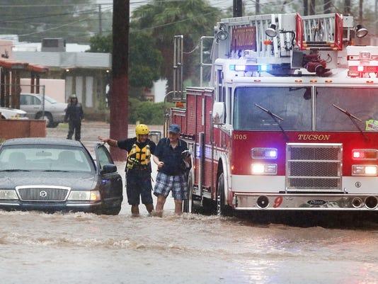 Tucson monsoon August 2016