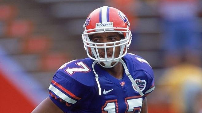 Reche Caldwell played receiver at UF from 1998-2001.
