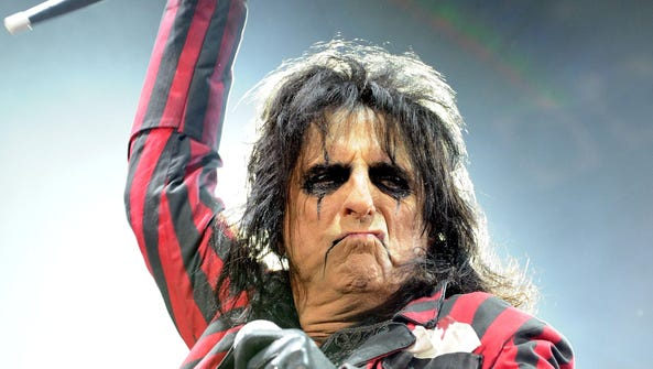 Alice Cooper performs at The Capitol Theatre in May.