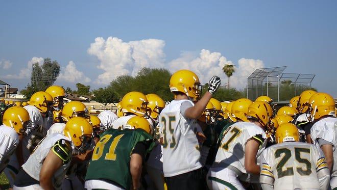 The high school football season kicks off on Friday, Aug. 19.
