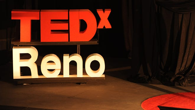 Matt Schultz was one of the speakers at the second annual TEDxReno event at the Lear Theater in 2014.