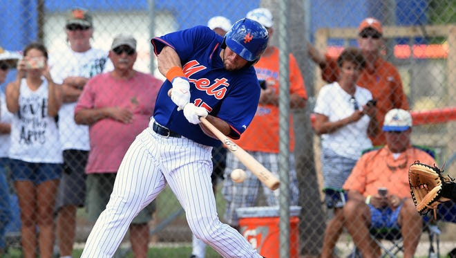 Tim Tebow hit a home run in his first Florida Instructional League at bat on Sept. 28, 2016 in Port St. Lucie. Sunday, Tebow was promoted to the St. Lucie Mets, with his first home game coming Tuesday at First Data Field.