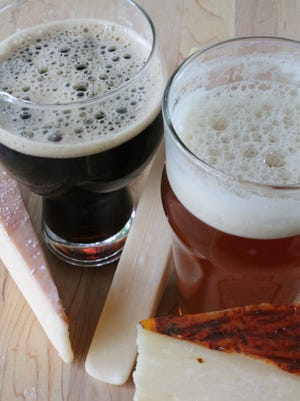 It's ok to pair cheese with beer instead of wine.