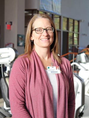Christine Feeley has worked as a physical therapist at Cayuga Medical Center since 2004.