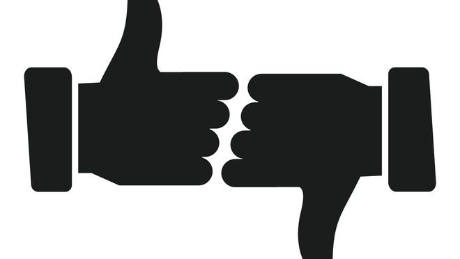 Submit thumbs up or thumbs down submissions of 150 words or fewer to Opinion@coloradoan.com.