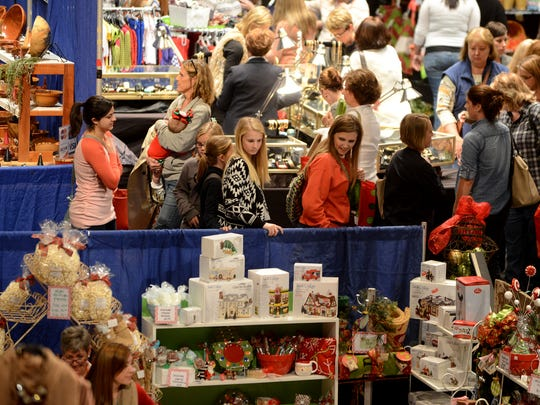 University School of Jackson's 44th annual Holiday Mart is a three-day event that began Friday and ends today at the Carl Perkins Civic Center. Over 150 vendors offer options for shopping and dining.