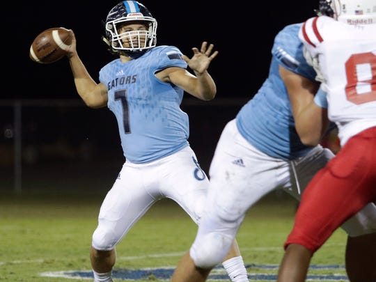 Ascension Episcopal quarterback Jake Vascocu has displayed already this season that he's capable of hurting teams with his arm and his legs.