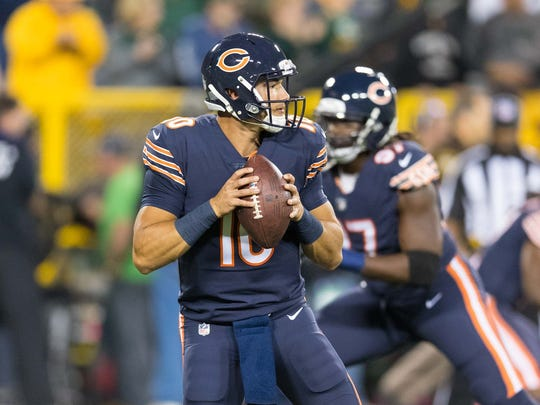 Chicago Bears quarterback Mitchell Trubisky.