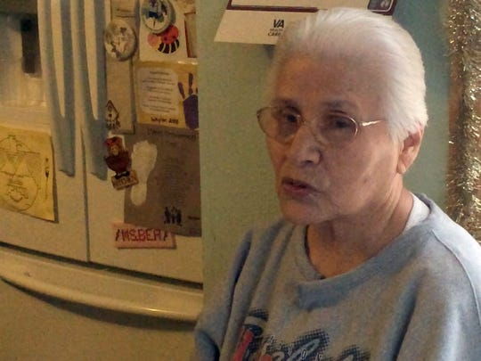 Bea Wilber is a Keshena resident experiencing flooding problems related to the Wolf River ice dams. Wilber lives in a home along Route 47 in Keshena just north of County VV.