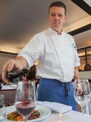 Executive chef, Herve Mahe, of the Bistro de Margot