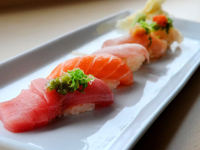 The Sushi Combo at Prawn & Basil in Thousand Oaks includes