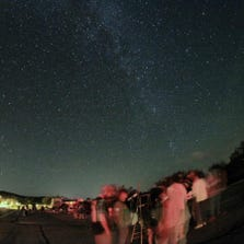 The Huachuca Astronomy Club conducts public awareness programs such as stargazing nights at Kartchner Caverns.
