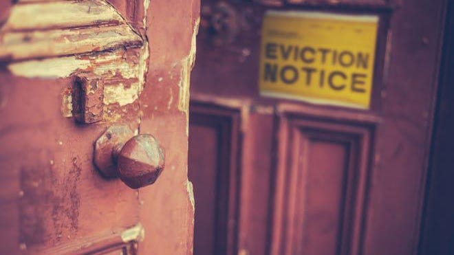 The CDC extended a moratorium on evictions to Dec. 31