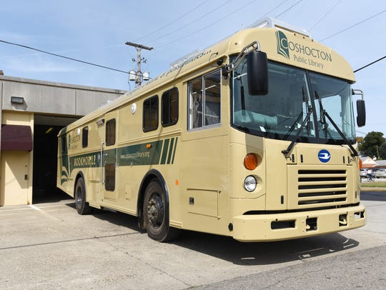 The Coshocton Public Library's new Bookmobile.