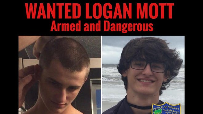 Logan Mott, a 15-year-old boy from Florida, is wanted as a person of interest in his grandmother's death, according to the Jacksonville Sheriff's office. Police believe Mott could be in Pennsylvania. Anyone who sees him should call 911, as he is considered armed and dangerous, police said.