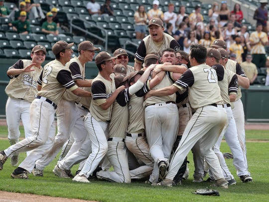 Paxton Meyers started as a sophomore when Clarkstown South won a Section 1 Class AA championship.