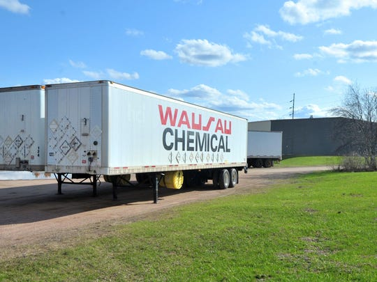 The proposed relocation of Wausau Chemical will allow for future riverfront development.