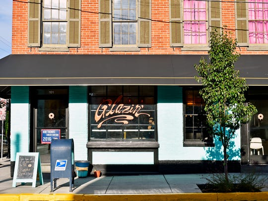The exterior of Glazin' is shown on South Duke Street Thursday, Sept. 15, 2016, in the Royal Square neighborhood of York. The doughnut shop, which opened in January, closed its retail shop Thursday, with plans to reopen elsewhere in York.