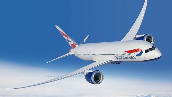 An undate image of a British Airways Boeing 787 Dreamliner.