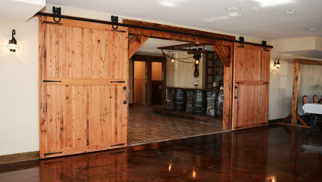 Baqara is a new event center in Runnells that has a chic rustic decor.