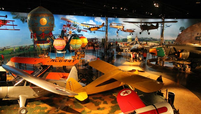 The Air Zoo in Portage is one of the five area attractions offering free entry for members of the other attractions in May.