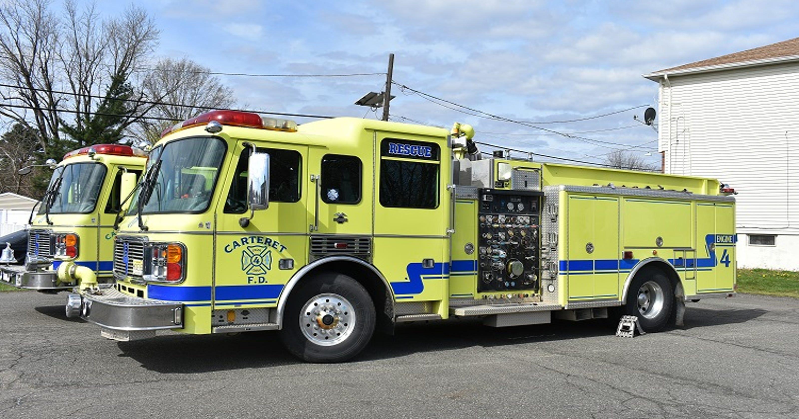 Carteret Fire Trucks Headed To Help Puerto Rico Hurricane Victims