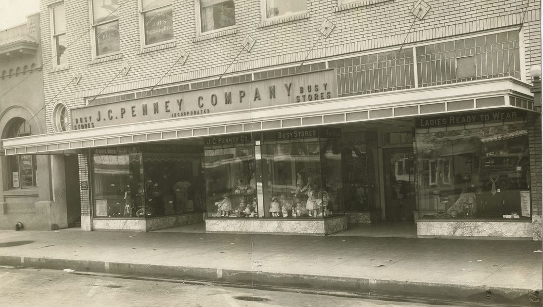 jcpenney showcases 100 years of history in salem