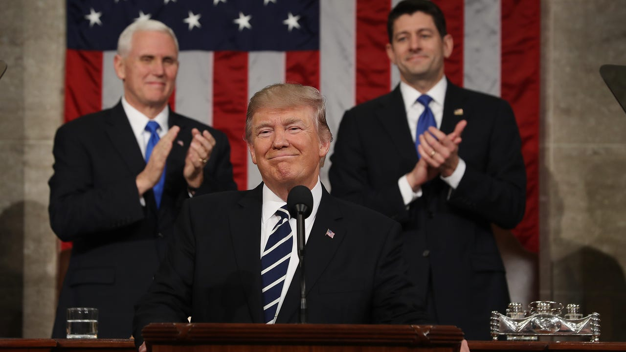 When President Trump addresses a joint session of congress Tuesday night, he will undoubtedly say that the State of the Union is strong, and he's right. The economy is growing, the stock market is booming, and unemployment is low.