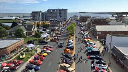 The Crisfield Area Chamber of Commerce and the Wheels That Heal Car Club of Salisbury will hold its 10th annual Wheels on the Waterfront Cruise-In, near the foot of West Main Street in downtown Crisfield, on July 30.