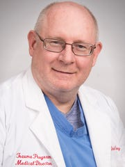 Dr. Daniel Carney is medical director of trauma surgery