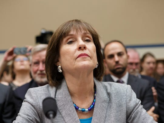 Lois Lerner refuses to answer questions from the House Oversight Committee in May 2013.