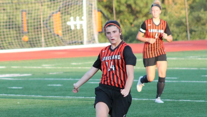 A year after making the state finals, Megan Schuster and her Loveland teammates are among the area's top teams again.