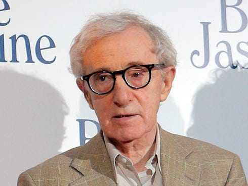 Woody Allen at the French premiere of