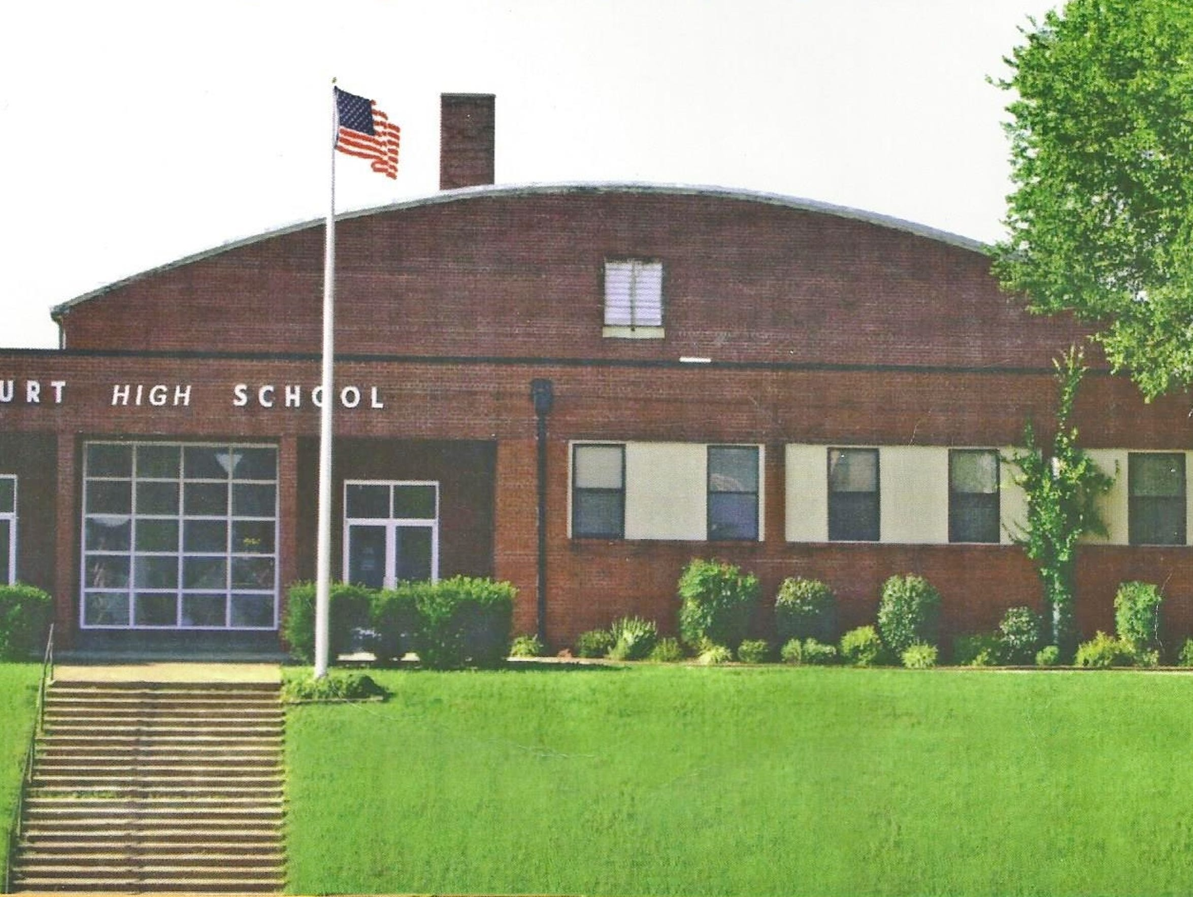Burt High School in the 1960s.