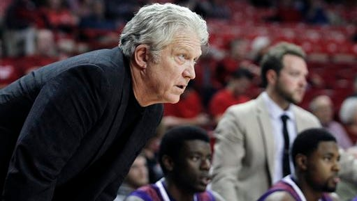 Northwestern State's Mike McConathy takes his team into a Saturday game with Missouri Valley.