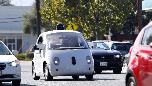 Computers that control cars of the future can be considered drivers just like humans, the federal government's highway safety agency has found.