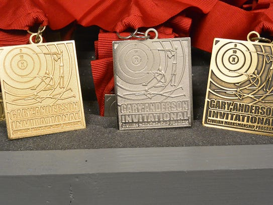 Medals were awarded in the Gary Anderson Invitational