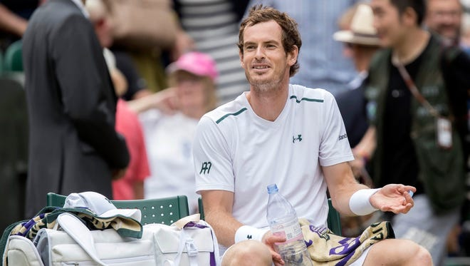 Andy Murray underwent surgery on his right hip on Monday
