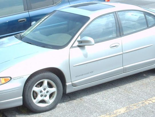 An example of the vehicle the suspect may have been