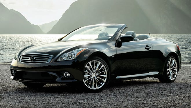 The Infiniti Q60 Convertible is one of the most seductive vehicles in its class.