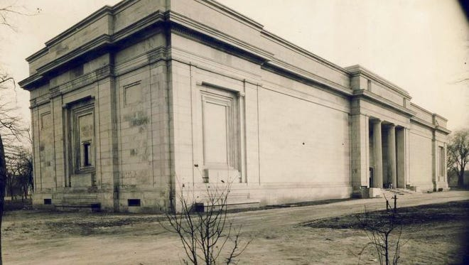 The J. B. Speed Memorial Museum, 2035 S. Third St. on the University of Louisville campus, is shown in January 1927.