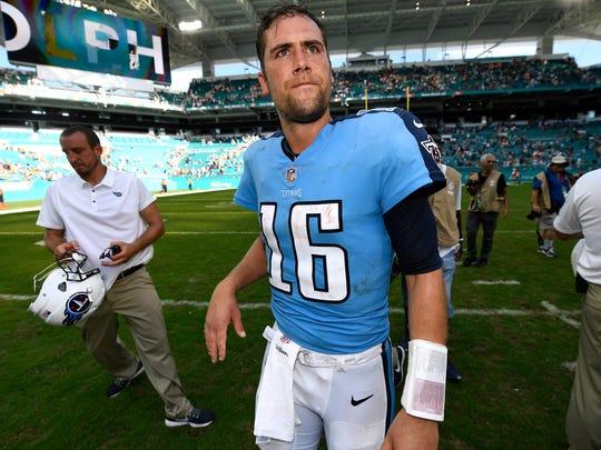 Matt Cassel -- 2 games started as a Titans quarterback