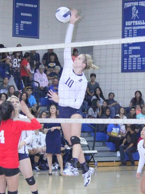 Silver's Megan Mattie was selected as an All-South, All-State and All-District player for the Lady Colts.